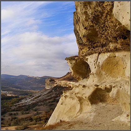 Крым, пещерный город Бакла